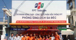 Lắp Internet FPT Sa Đéc
