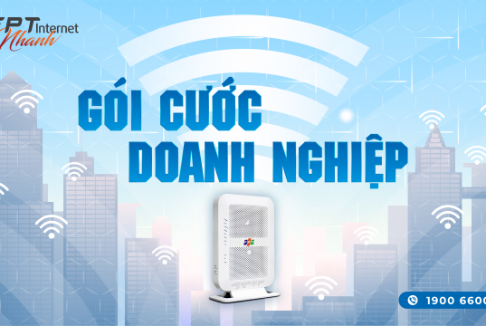 Lắp internet FPT Cho Doanh Nghiệp