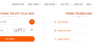 Cách tra cứu thông tin bảo hành FPT Play Box