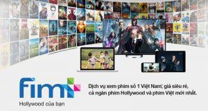 Dịch vụ Fim+ trên truyền hình FPT