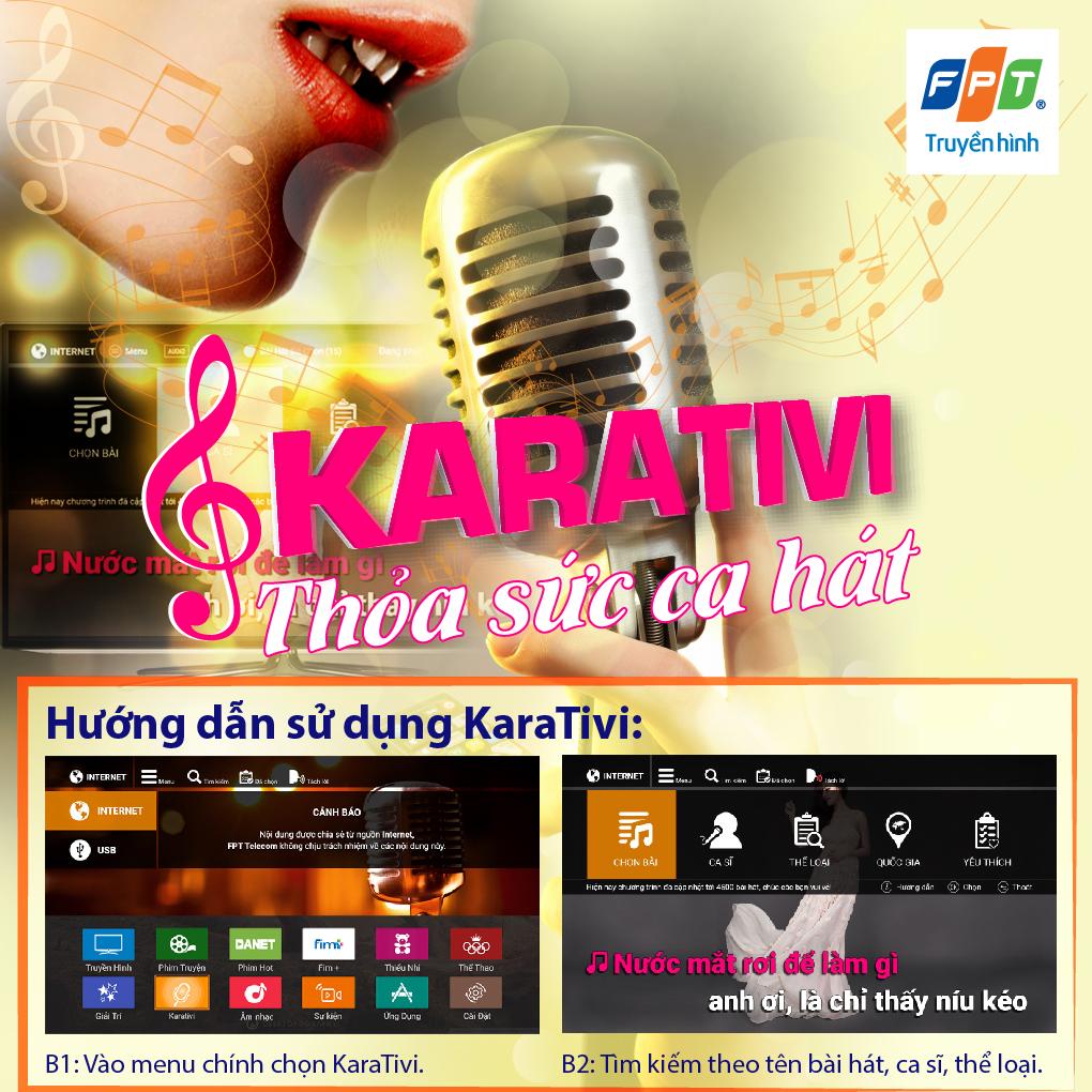 Hát karaoke trên truyền hình FPT