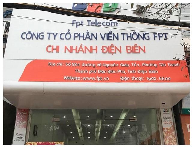 Lắp internet FPT Điện Biên
