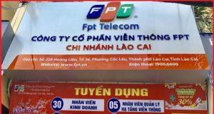 Lắp internet FPT Lào cai