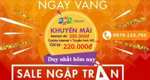 Lắp Internet FPT Khuyến Mãi Vàng 2021