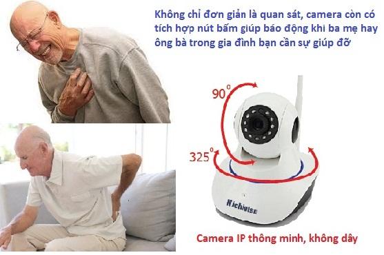 Camera An ninh cho người Cao tuổi