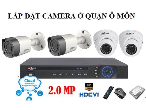 Lắp Camera FPT Quận Ô Môn