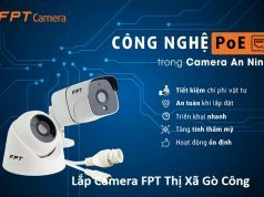 Lắp Camera FPT Thị Xã Gò Công
