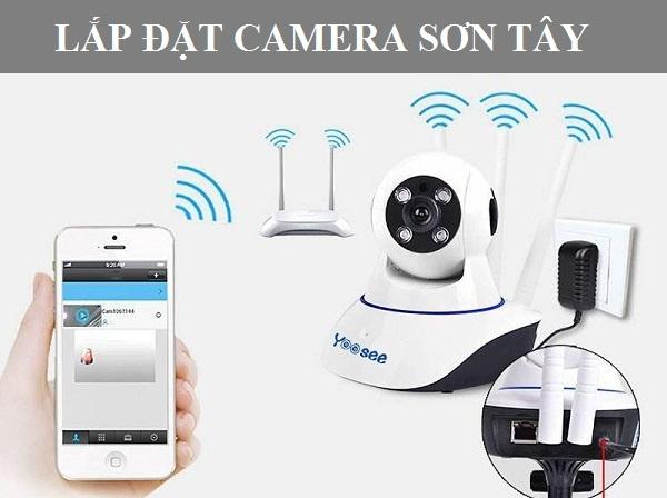 Lắp Camera FPT Thị xã Sơn Tây