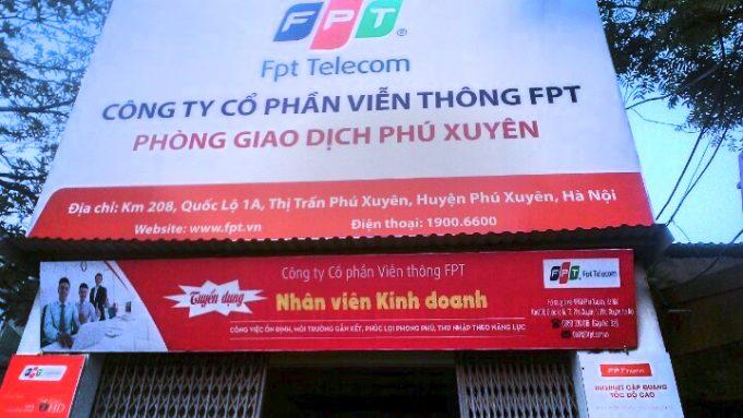 Lắp Internet FPT Huyện Phú Xuyên