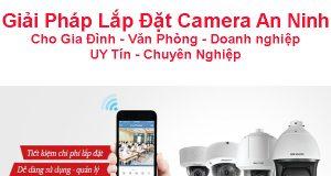 Lắp camera an ninh cho Doanh nghiệp