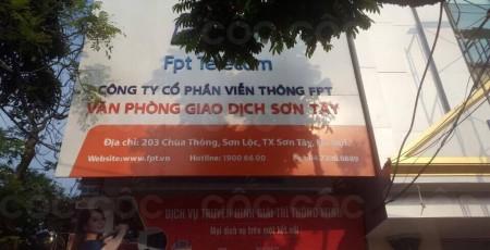 Lắp internet FPT Thị xã Sơn Tây