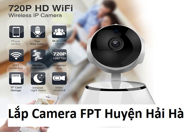Lắp Camera FPT Huyện Hải Hà
