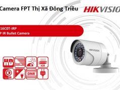 Lắp Camera FPT Thị Xã Đông Triều