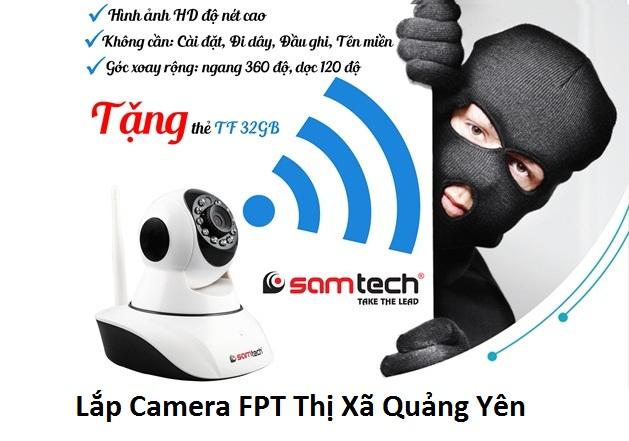 Lắp Camera FPT Thị Xã Quảng Yên